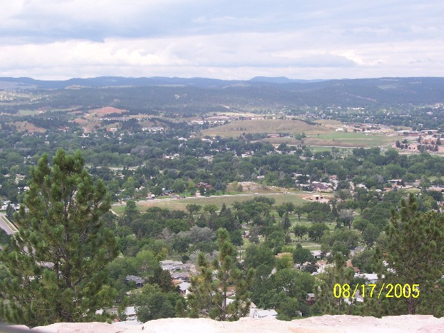 60 Rapid City Sd From Skyline Drive